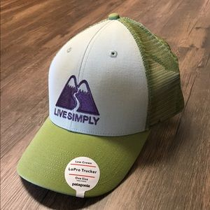 Patagonia Live Simply LoPro Trucker Hat